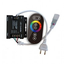 AC 110V 220V 1500W LED RGB Wireless RF Color Ring Infrared Remote Controller
