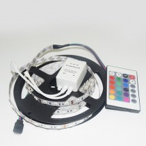 LED Strip Liight RGB 5050 60LED/M 5M 12V Non Waterproof With Controller
