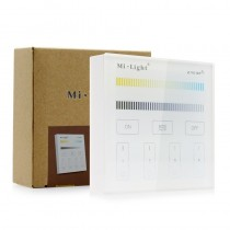 Milight B4 Panel LED Controller RGB+CCT Wall Mounted Remote 30M Wireless Dimmer