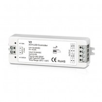 DC12-24V 2CH 5A Constant Voltage RF 2.4G Receiver V2 For LED Strip Light