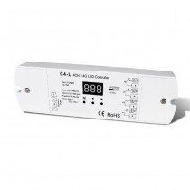 DC12-48V 4CH Constant Current RF 2.4G Receiver C4-L For RGB RGBW LED Strip Light