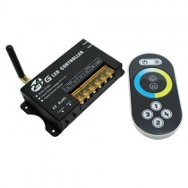 DC 12V 24V Generic 2.4G 30M Control Touch Panel LED Wireless RF Remote Controller