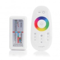 RGBW LED Controller 2.4G RF Wireless Touch Remote Control DC 12-24V