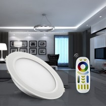 Mi.Light 15W Waterproof RGB CCT LED Downlight Round Reccessed Light FUT069