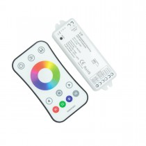 RGBW/RGB 2.4G RF Touch Remote Controller & LED Receiver WiFi controlled