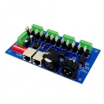 WS-DMX-12CH 12 Channel 4 Groups Dmx512 Decoder DMX LED Controller