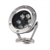 6W Submersible Led Underwater Light Outdoor Swimming Pool Garden Landscape 12V 24V Pond Lamp