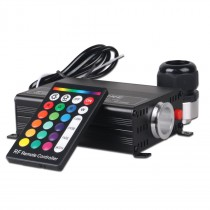 16W RGBW Fibre Optic Led Light Generator Engine with RF Remote Controller