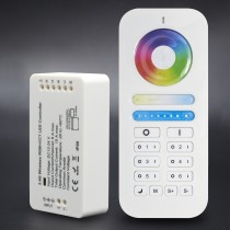 Mi.light RGBWW RGB+CCT Wireless Auto Sync 2.4G 6 Zone Touch Tone Remote Control
