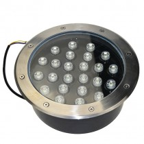 Waterproof 24W LED Underground Light Ground Path Floor Landscape Lamp
