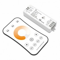 2.4GHz Wireless Remote Dual Color Temperature Controller For LED Led Strip Light Garage