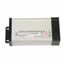 Outdoor Rainproof Power Supply DC 12V 300W AC 220V Input Driver Transformer