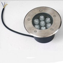 Waterproof 7W LED Underground Light Outdoor Buried Yard Landscape Lamp