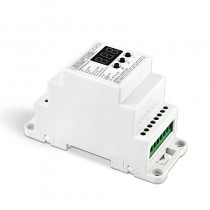 Bincolor Led Controller BC-831-DIN-RJ45 DIN Rail DMX512 Decoder Digital Tube Display
