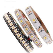 DC 5V 5m Addressable SK6812 LED Strip WWA 30/60/96/144 LEDs/Pixles/m
