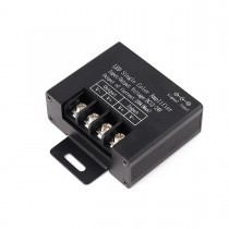 DC12v 24v 20A Aluminum Black LED Single Color Data Signal Amplifier