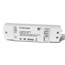 DC12-36V 3CH Constant Current RF 2.4G Receiver C3 For RGB LED Strip Light