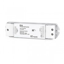 DC12-36V 4CH Constant Voltage Power Repeater EV4 For RGBW LED Lamp