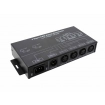1 4 8 Channels Optional DMX Signal Distributor For Amplifying DMX512 Lighting