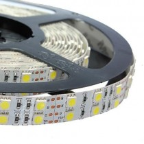 Dual Row RGB 12V 24V 5050 600LEDs Flexible Led Strip Light 16.4ft