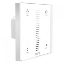 Ltech E1 Dimming European-Style Touch Panel RF+Touch Power Panel