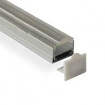 1M Led Raised Recessed Extruded Aluminum Channel 20pcs