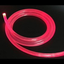 10M 6mm Side Glow Fiber Optic Cable Transparent Solid Core Optical