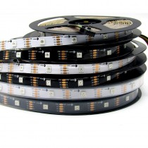 SK9822 5050 RGB LED Pixel Strip Individual Addressable 5V 16.4ft 5M 150leds Light