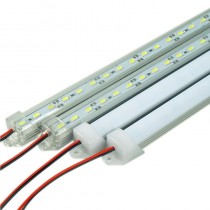 LED Bar Light DC 12V 5730 Strip Tube with U Aluminium Shell + PC Cover 5pcs