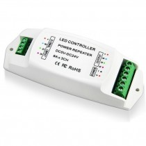Bincolor BC-960-8A Led Controller Power Ampilier 8A*3CH Data Repeater