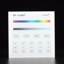 Mi light T3 4-Zone RGB RGBW And brightness Dimming Panel Remote Controller