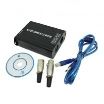 DMX512 Converter DMX512 Controller Connect With USB Interface of Computer Control
