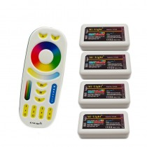 2.4G Mi Light RGBWW Led Controller FUT039 4pcs with 1 RGBW Remote Control