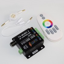 Music 2 Led RGB Music Controller RF Remote