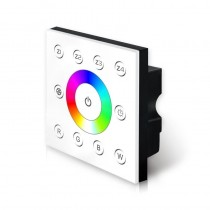 Bincolor Led P8 RGBW Dimmer Wall-mounted DMX512 Console Master Touch Panel Controller