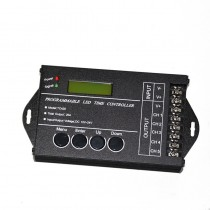 TC420 Programmable LED Time RGB Controller 5 Channels 20A DC 12 24V