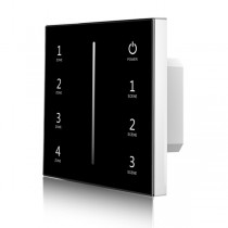 Skydance T18-1 4 Zones Touch Panel 0/1-10V LED Dimmer AC 85-265V