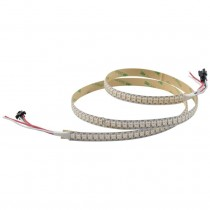 WS2812B LED Strip 3.2FT 1M 144Pixels/m Programmable Light DC5V